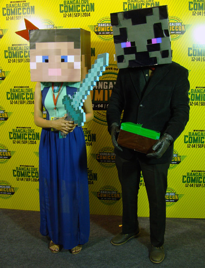 Comic-Con_Bangalore_2014_Minecraft
