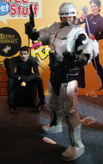 Comic-Con_Bangalore_2014_Robocop_Ryuk