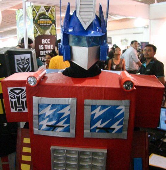 Comic-Con_Bangalore_2014_Optimus_Prime