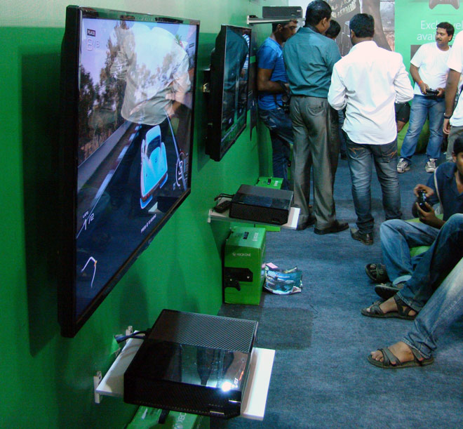Comic-Con_Bangalore_2014_Xbox_One_Zone
