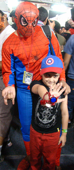 Comic-Con_Bangalore_2014_Spiderman