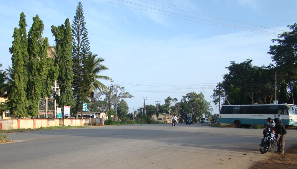 Kollegal_Main_Road_Junction