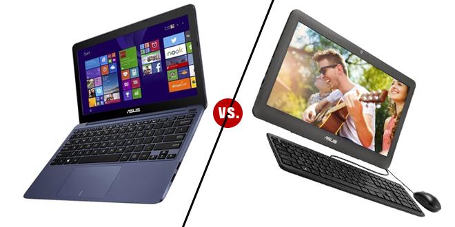 ASUS EeeBook X205TA vs. ASUS All In One PC ET2040