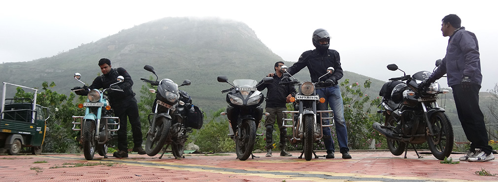 Anand_Resorts_Starting_our_Bikes