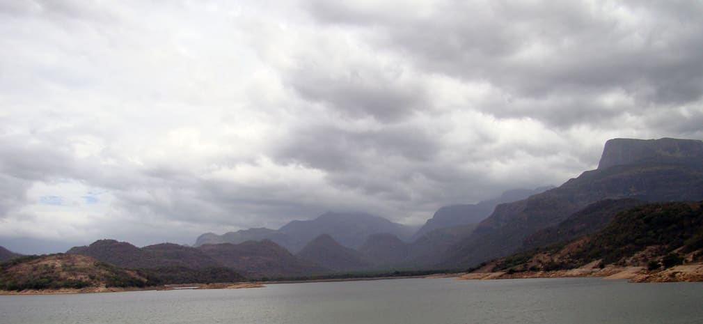 View_from_the_top_Amaravathi_Reservoir