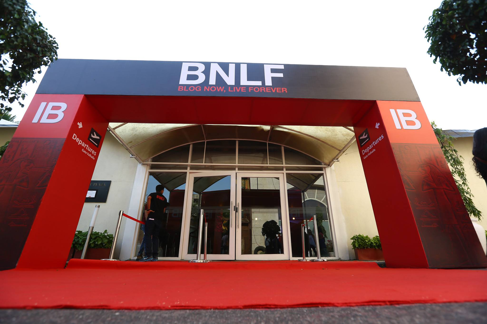 BNLF_2015_Mumbai_The Lalit_Entrance