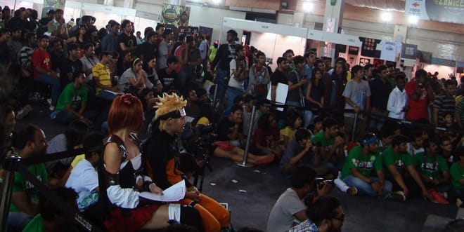 Comic-Con_Bangalore_2014_Captivated_Crowd