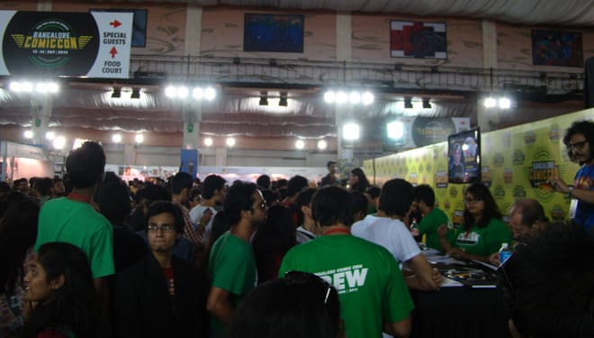 Comic-Con_Bangalore_2014_Special_Guests_Area