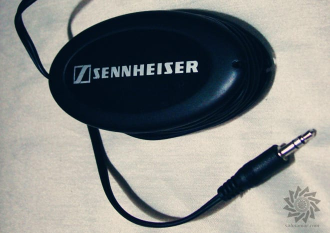 Sennheiser HD 202 II Wind-up Belt Clip