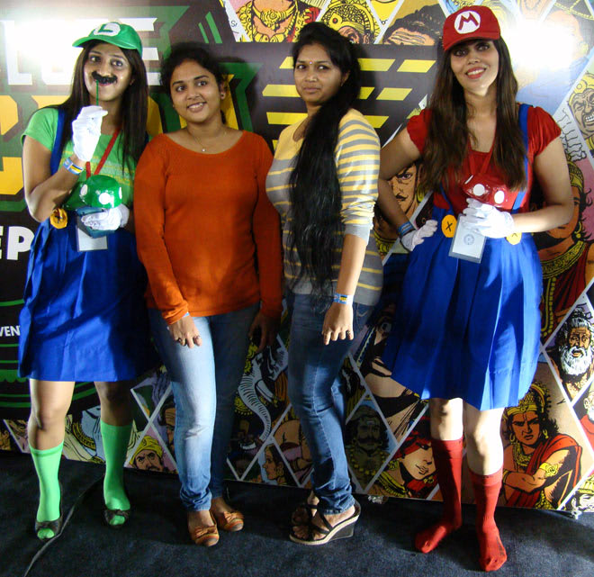 Bangalore_Comic-Con_2014_Guests_Cosplayers
