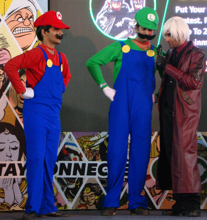 Bangalore_Comic-Con_2014_Mario_Bros