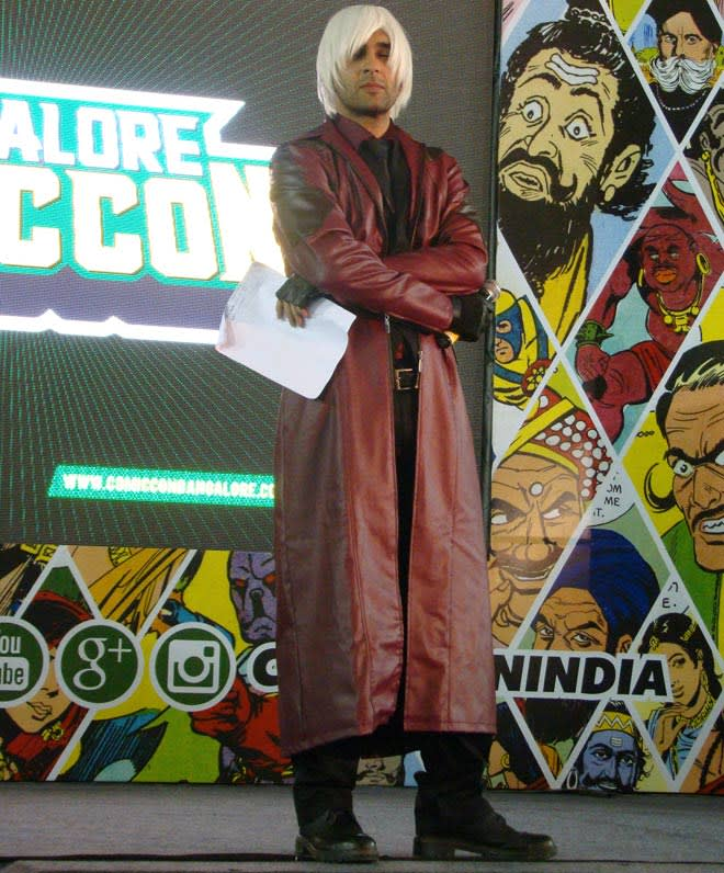 Bangalore_Comic-Con_2014_Host