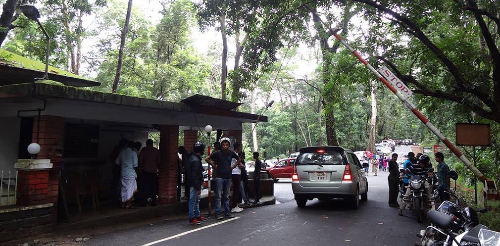 Kerala_Forest_Department_checkpost_Vazhachal-Divison