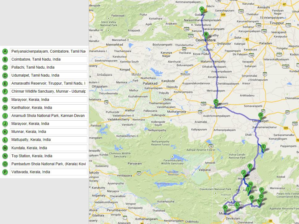 Wilderness Ride - Day 2 Map