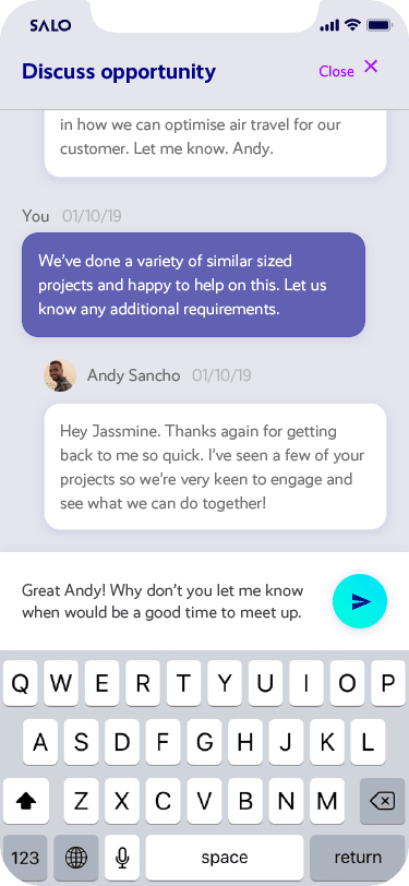 LEAP messaging