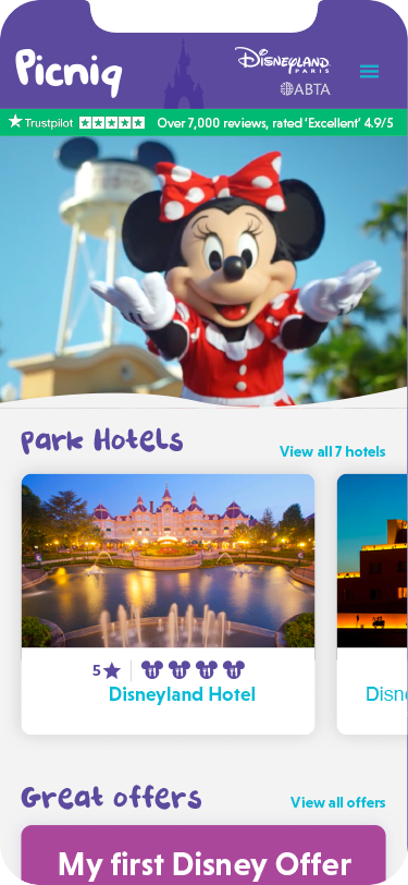 Picniq - Booking a Disney® holiday