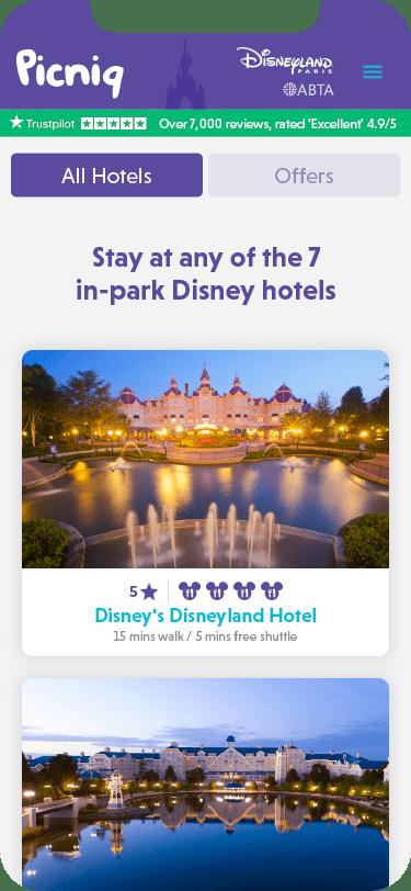 Picniq - Disney® hotels