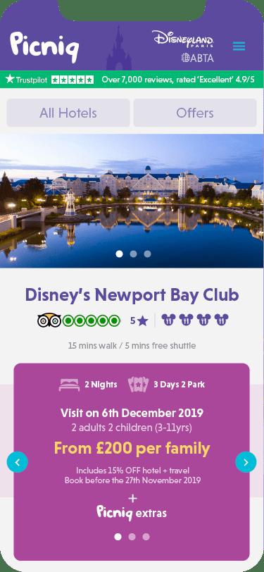 Picniq - Disney® hotel