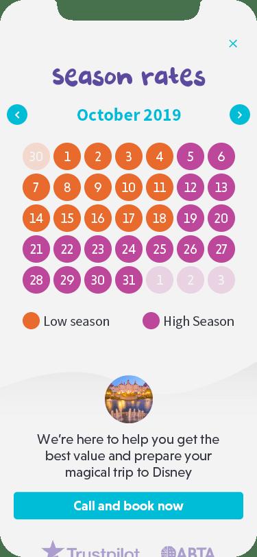 Picniq - Booking dates