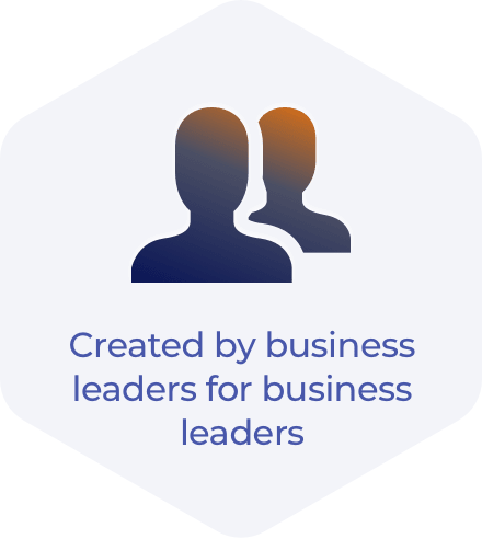 Created by business leaders for business leaders