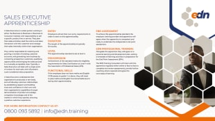 Sales Executive Apprenticeship fact sheet