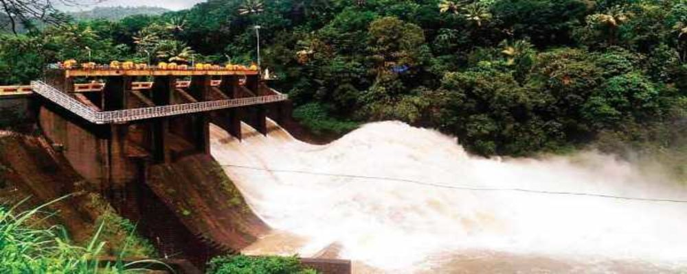 KERALA : 1st Time In History, 24 Dams Were Opened