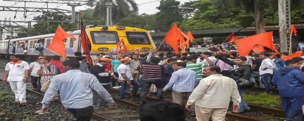 Maharashtra Bandh started peacefully across Maharashtra