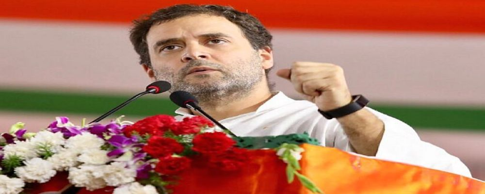 Rahul Gandhi reaches Gwalior to support protesting landless poor