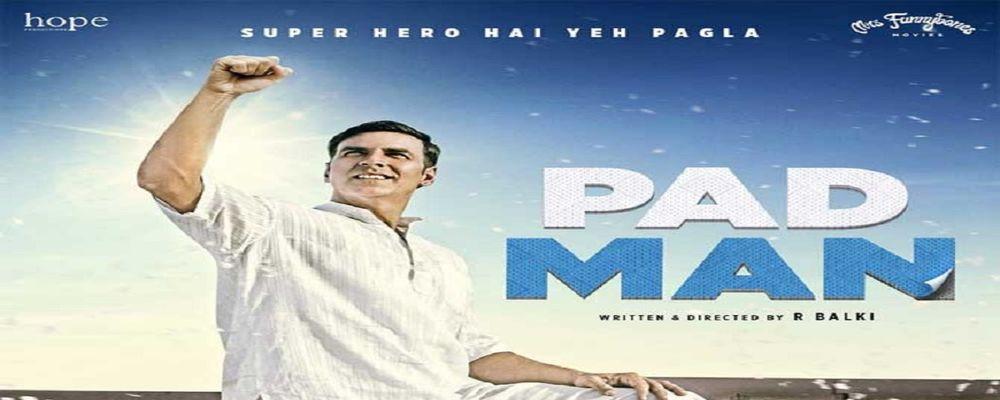Super Hero Akshay Unveils Official Poster Of Padman
