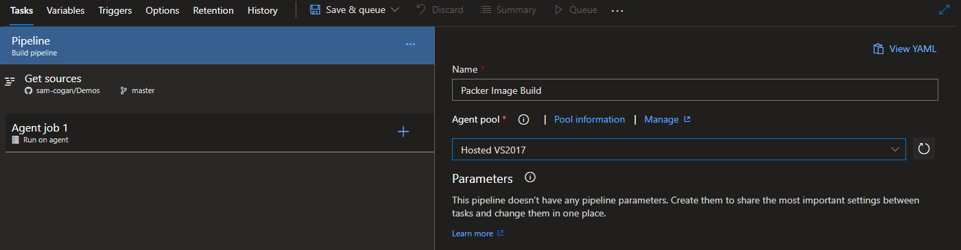 Building Packer Images with Azure DevOps
