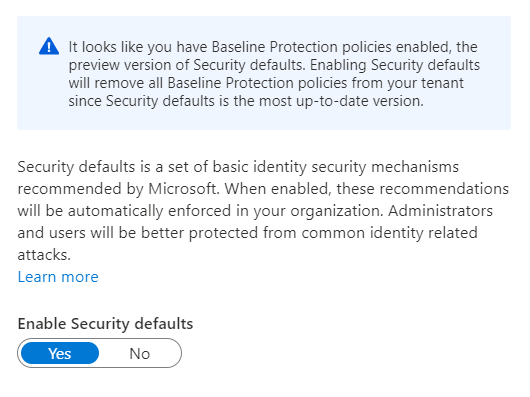 WTH are Azure AD Security Defaults?