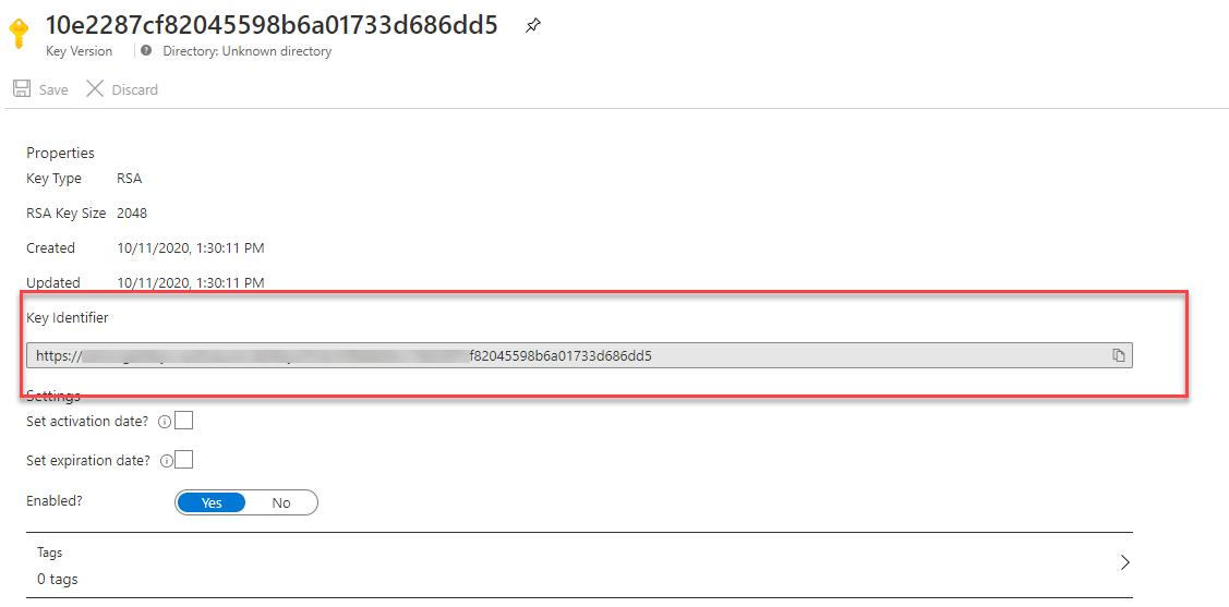 Key URL