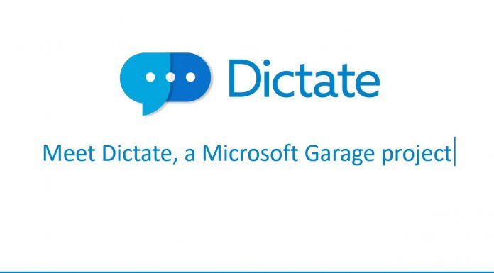 Microsoft Dictate - Voice Recognition Speech Typing Writing Tool