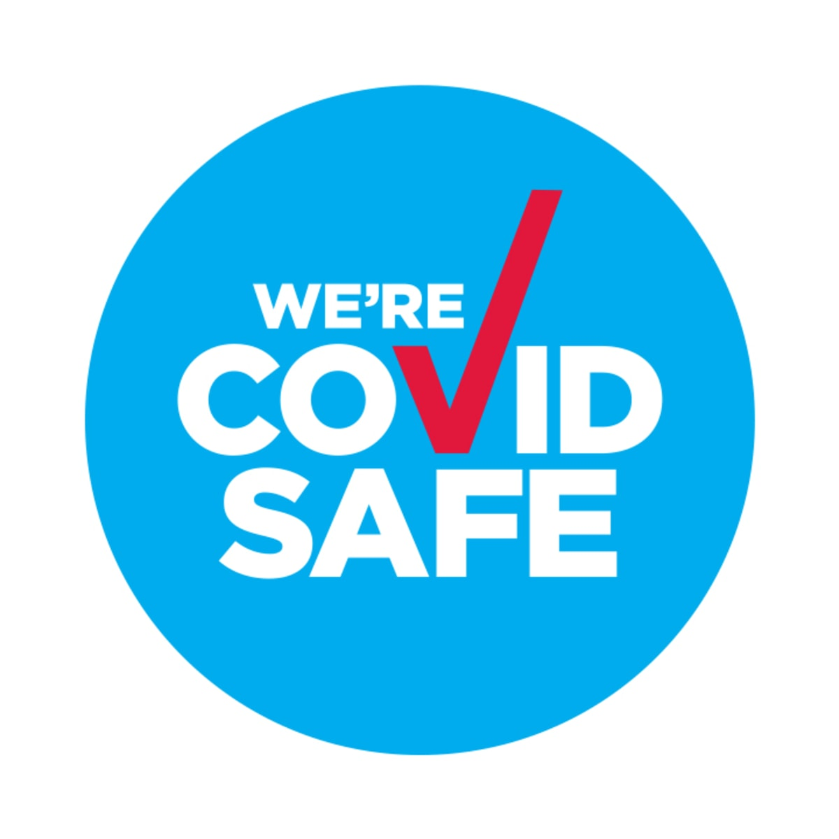 We're a COVID Safe business