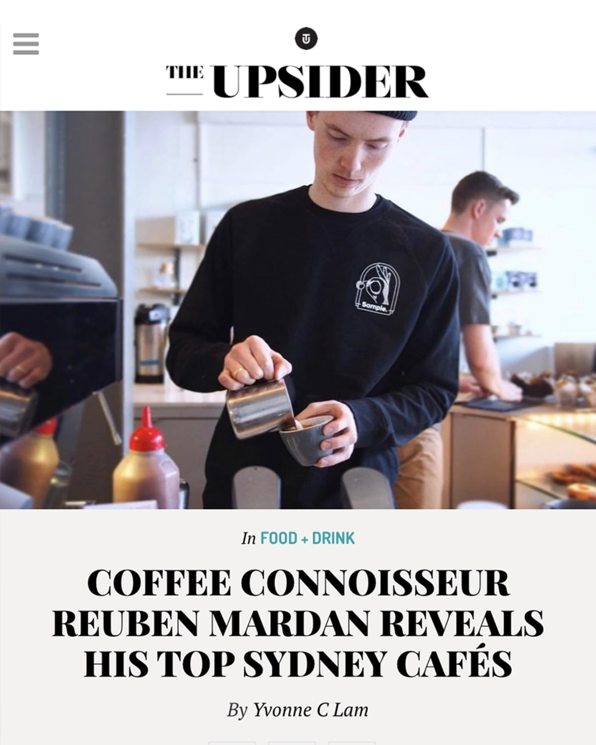 The Upsider cover