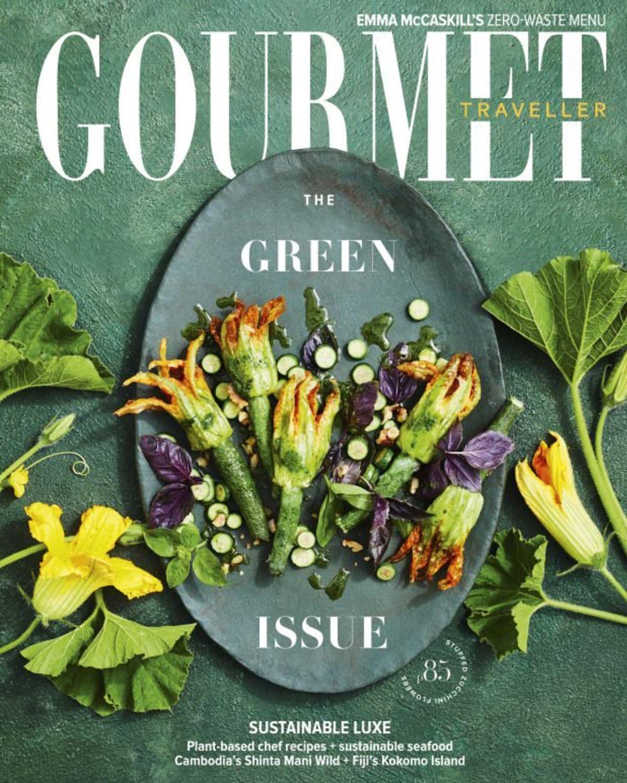 Gourmet Traveller cover