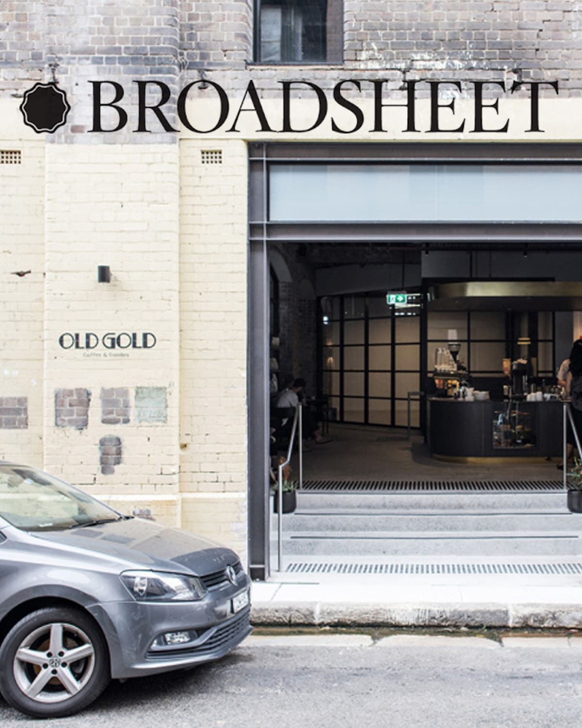 Broadsheet Old Gold article cover