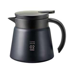 Photo of Hario V60 Insulated Stainless Server 600mL Black