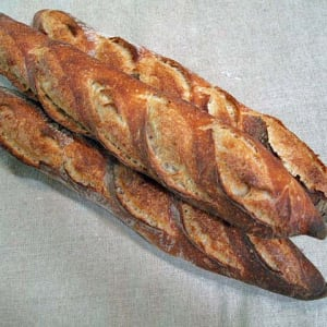 Photo of Bread - Half Sourdough Baguette