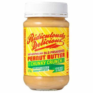 Photo of Peanut Butter - Ridiculously Delicious - Smooth or Crunchy - 375g