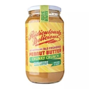 Photo of Peanut Butter - Ridiculously Delicious - Crunchy - 1kg