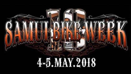 Samui Bike Week 2018 May 4-5th