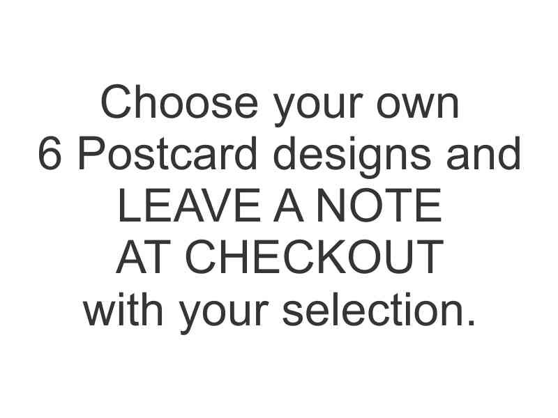 Postcards - YOUR CHOICE