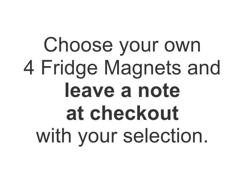 Fridge Magnets - YOUR CHOICE