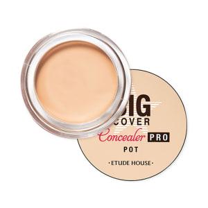 Che Khuyết Điểm Etude House Big Cover Pot Concealer Pro - Màu Beige