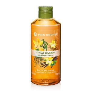 Gel Tắm Yves Rocher Bourbon Vanilla Bath And Shower Gel 400Ml