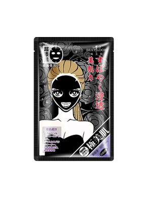 Mặt Nạ Đen Sexylook [Phục Hồi – Dưỡng Ẩm – Se Khít Lỗ Chân Lông] 28Ml X 1 Miếng