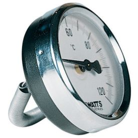 EURO-INDEX BUISKLEMTHERMOMETER 63 MM 0+120°C img