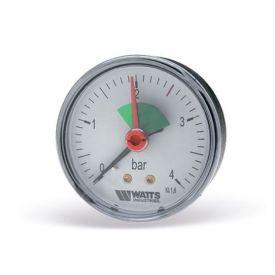 "WATTS MANOMETER VOOR CENTRALE VERWARMING FR 100 DN 63 0-4 BAR 3/8"" AX img"