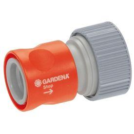 """GARDENA PROF-SYSTEM OVERGANGSSTUK MET WATERSTOP 3/4"""" (02814-20) img"""